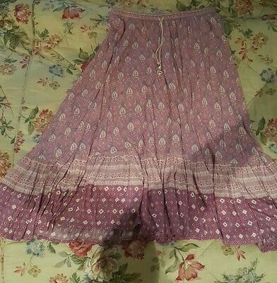 SPELL Oracle Midi Skirt Size L As New