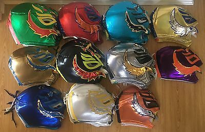WWE Large Rey Mysterio Replica wrestling Mask For Adults. Superstars Authentic