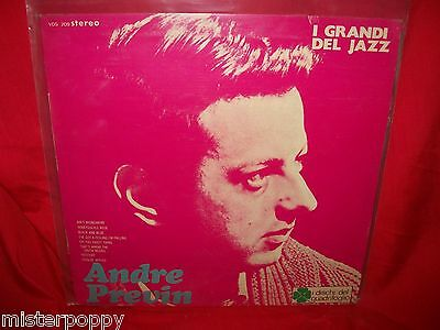 ANDRE PREVIN LP ITALY 1970 MINT- Jazz Library VEDETTE label