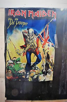 Iron Maiden wall hanger/bed spread the Trooper
