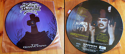 "KING DIAMOND-""The Graveyard""-Picture LP 1st press Massacre Records; VERY RARE!!"