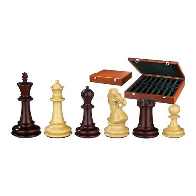 Chess Figures - Gratianus - Wood - Noble Staunton - Kings Height 100 mm