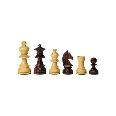 Chess figures - Palisander and Boxwood - Kings height 76 mm