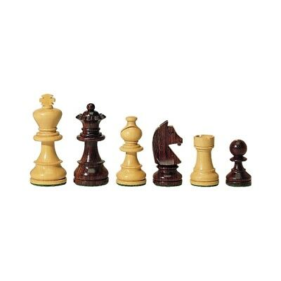 Chess figures - Palisander and Boxwood - Kings height 95 mm