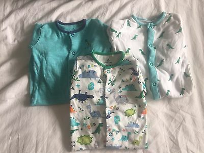 Next Baby Boys Sleepsuits Set Bundle 0-3 Months Excellent Condition