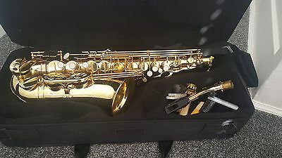Artemis Alto Saxophone with padded case, mouthpiece, neck strap,and lubricant
