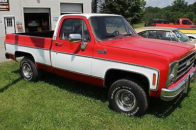 1979 Chevrolet C/K Pickup 1500 custom deluxe 1979 Chevy k10 custom deluxe 4x4 short bed