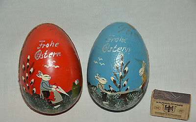 Candy Box Osterhase Antik Container Ostern Osterei Easter egg Bunny