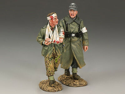 King And Country Wss174 Ws174 - Walking Wounded - Wwii German Forces