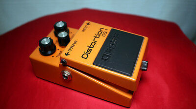 Boss DS1 Legendary I Distortion Guitar Peal I