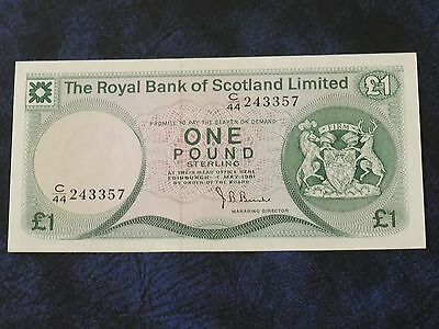The Royal Bank Of Scotland Limited £1 Note 1981