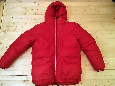Sierra Designs Goose Down Baffled Expedition Parka Canada Coat USA Made Medium