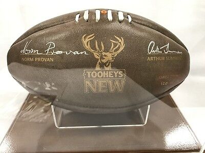 Signed Norm Provan & Arthur Summons Limited Edition Rugby League Ball