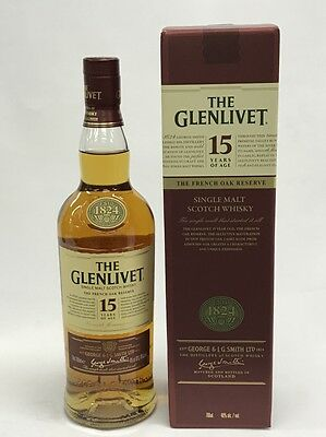 The Glenlivet 15 Years Old Single Malt Scotch Whisky 700Ml Boxed