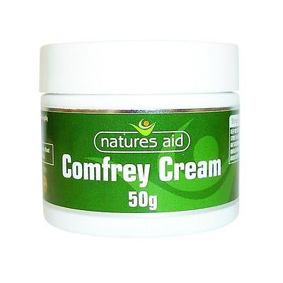Natures Aid Comfrey Cream 50g 1 2 3 6 12 Packs