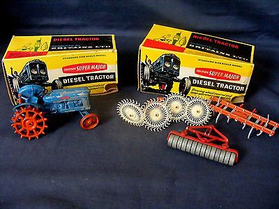 Vintage Britains Boxed Tractor etc.