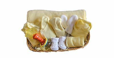 Baby Boy And Girls Unisex Christening Gift Present Shower Basket Maternity