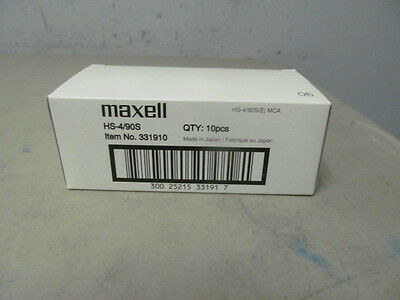 Maxell Hs-4/90S 4Mm 2Gb Tape Cartridge New Qty-10