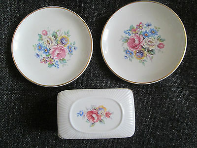 Lord Nelson ring dishes and trinket box