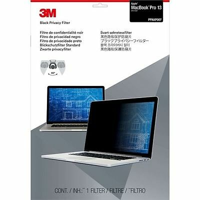 "Anti-Spy 3M Privacy Screen Filter for Apple MacBook Pro 13"" 2016 Model, PFNAP007"