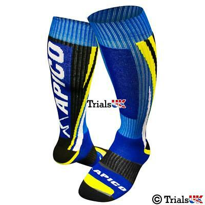 New 2016 Colour Kids/Youth Apico Racing Sock - Trials,Trail, Enduro,MX