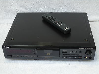 Sony DTC-ZE700 DAT Digital Audio Tape Recorder & Player + Remote Control