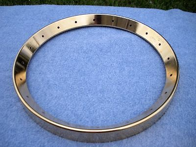 GOLD PLATED Tennessee 20 banjo tone ring for Gibson style bluegrass banjos.