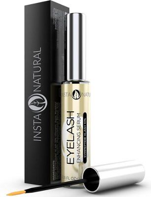 InstaNatural Eyelash + Eyebrow Boost Serum - Long Thick Fuller Eyelashes