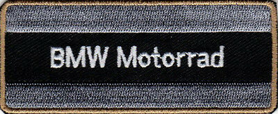 BMW MOTORRAD MOTORCYCLES EMBROIDERED IRON ON PATCH biker jacket R1200GS G450X