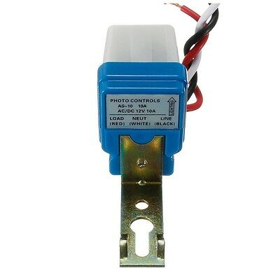 AC DC 12V 10A Automatic Lamp Twilight Switch Light Sensor Twilight Switch Q1B7