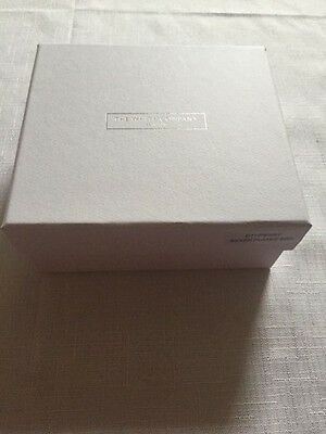"New ""The White Company"" silver plated box"
