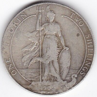 1909 Edward VII Florin Two Shillings***Collectors***