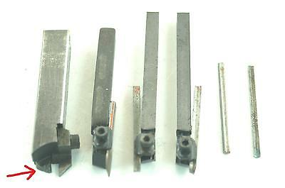Unimat DB/SL lathe lot of 4 Tool Bit Holder, left & right + Carbide insert.