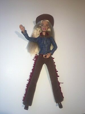 Barbie Cowgirl Country Girl Western Style Posable Doll 2004