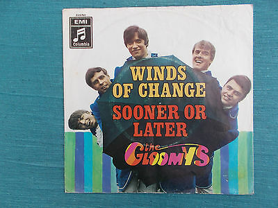 "The Gloomys- Winds Of Change ( NUR COVER !, 7"" ,1968, Z= 1- )"