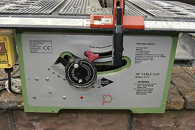 Professional S I P 10 Inch Table Saw Model 07776
