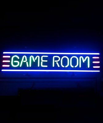 "New Game Room Neon Sign 20""x8"""