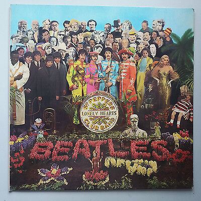 The Beatles - Sgt. Peppers Lonely Hearts Club Vinyl LP UK 1976 Stereo Reissue EX