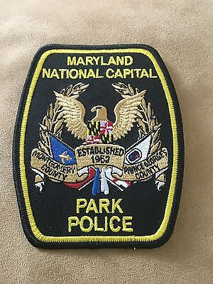 Maryland - National Capital Park Police Department Patch - Prince George County