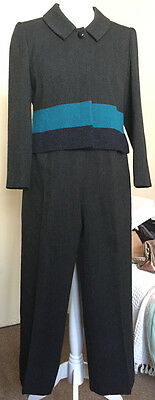 Minuet Petite - Ladies Wool Suit - Trousers & Jacket - Size 16 - Immaculate