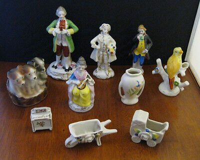 Vintage Made in Occupied Japan Lot of 11 Porcelain pieces*Colonial* victorian