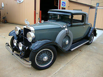1929 Nash  1929 Nash Advanced 6 Rumble-Seat Coupe - New Interior - Inlaid German Silver