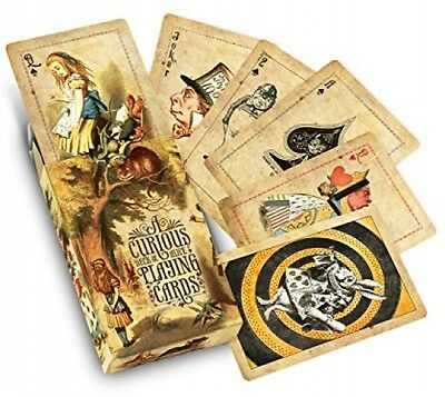 Alice In Wonderland Curious Playing Cards Collectible Antique