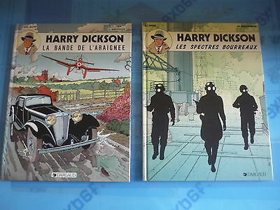 "Lot de 2 albums ""Harry DICKSON"""