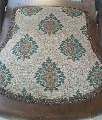 Victorian Embroidered Folding Rocking Chair