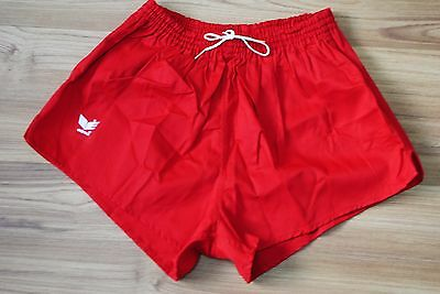 Erima Shorts Vintage Made In West Germany Red Color Size 7 M-L Medium Large Mint