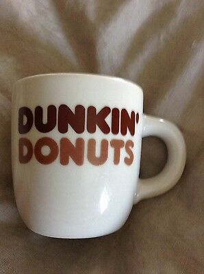 Vintage Dunkin' Donuts Coffee Mug Old Classic Diner Cup Restaurant Ware REGO