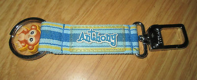 Anthony Blue Keyring