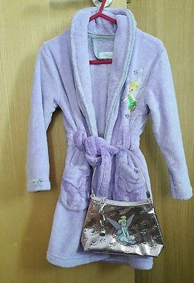 Toddler Girls - DISNEY Tinkerbell - BATH ROBE / Dressing Gown - Age 2-3 Years