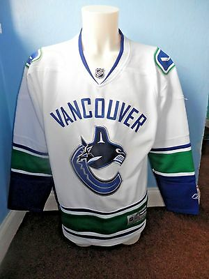 Rare Vancouver Canucks Nhl Ice Hockey Shirt Reebok Large